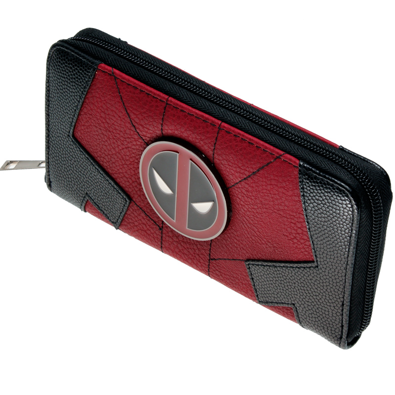 купить Marvel Comics Deadpool Juniors Suit Up Zip Around Wallet DFT-1991 по цене 1076.28 рублей