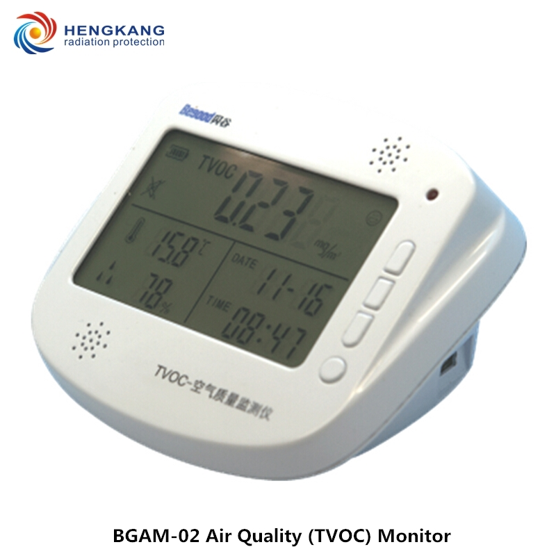 TVOC Digital Gas Detector Indoor And Car Portable Gas Alarm Analyzer Additional Temperature And Humidity Detection