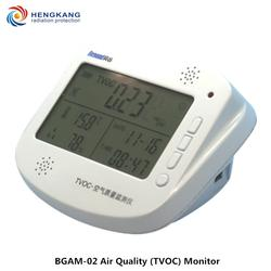 TVOC цифровой газовый детектор крытый и автомобилей Портативный газовый анализатор сигнала тревоги дополнительные температуры и влажности