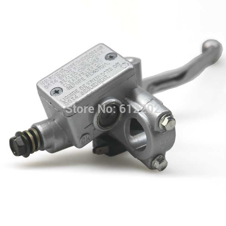 Motorcycle Right Front Brake Master Cylinder with Lever for Honda CMX250 Rebel 250 Cruiser купить