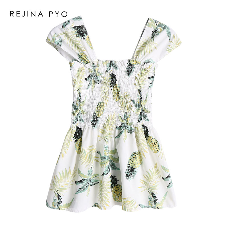REJINAPYO Women's Sleeveless Floral Printed Casual Shirt Stretching Holiday Beach Tank Tops Women All-match Fashion Camis 2