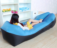 New Trend Outdoor Products Fast Infaltable Air Sofa Bed Good Quality Sleeping Bag Inflatable Air Bag Lazy bag Beach Sofa Laybag