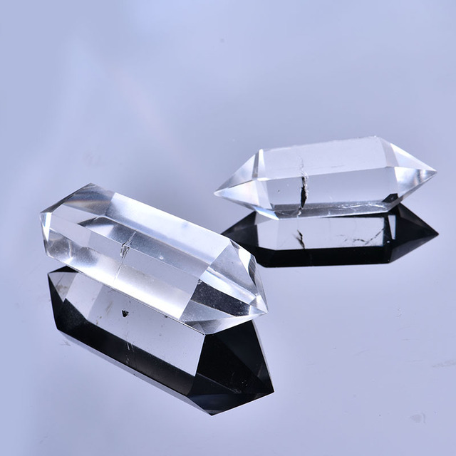 1PC natural white crystal crystal point mineral jewelry magic repair home home decoration study room decoration DIY gift 1