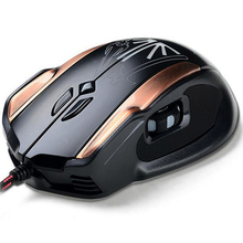 New Fashion X5 style on the left side of the roller wired mouse feel comfortable font