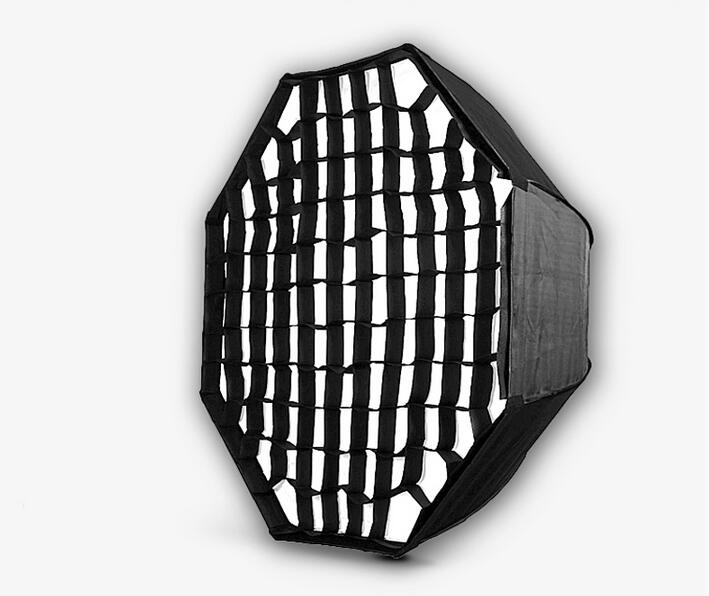 Nicefoto KS120 Honeycomb 95cm Grid Umbrella Frame Photo Studio Octagon Softbox Soft Box For All Strobe Flash Lighting nicefoto k80 120cm umbrella frame photo studio square softbox soft box for all strobe flash lighting