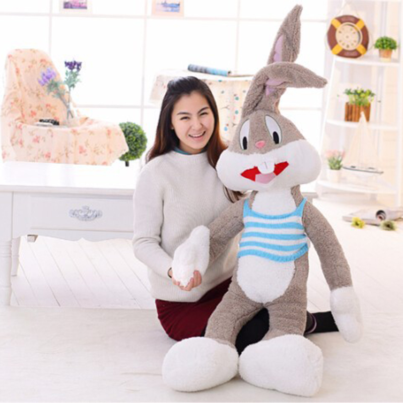 1 meter lovely big rabbit plush toy kawaii biggest hug rabbit doll soft children plush doll best birthday kids gift 20cm cute lilo and stitch plush toy lovely staffed doll best gift for children kids toy christmas gift
