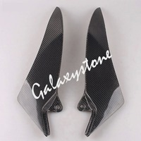 Carbon Fiber Tank Side Covers Panel Fairing for Yamaha YZF R1 2009 2010 2011 2012 2013 2014 Motorcycle Side Lining
