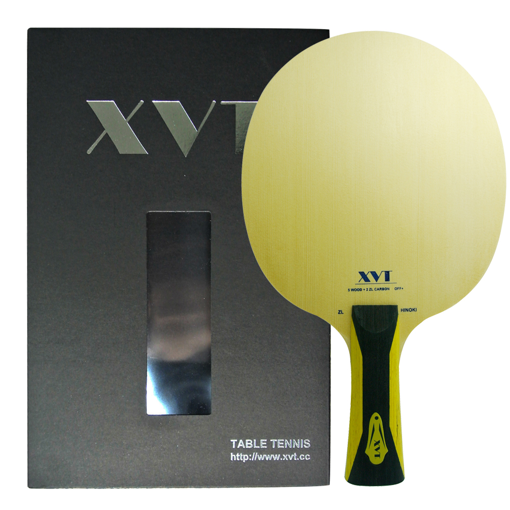 Highend XVT ZL HINOKI ZL Carbon AMULTART Table Tennis paddle Table Tennis Blade with original box