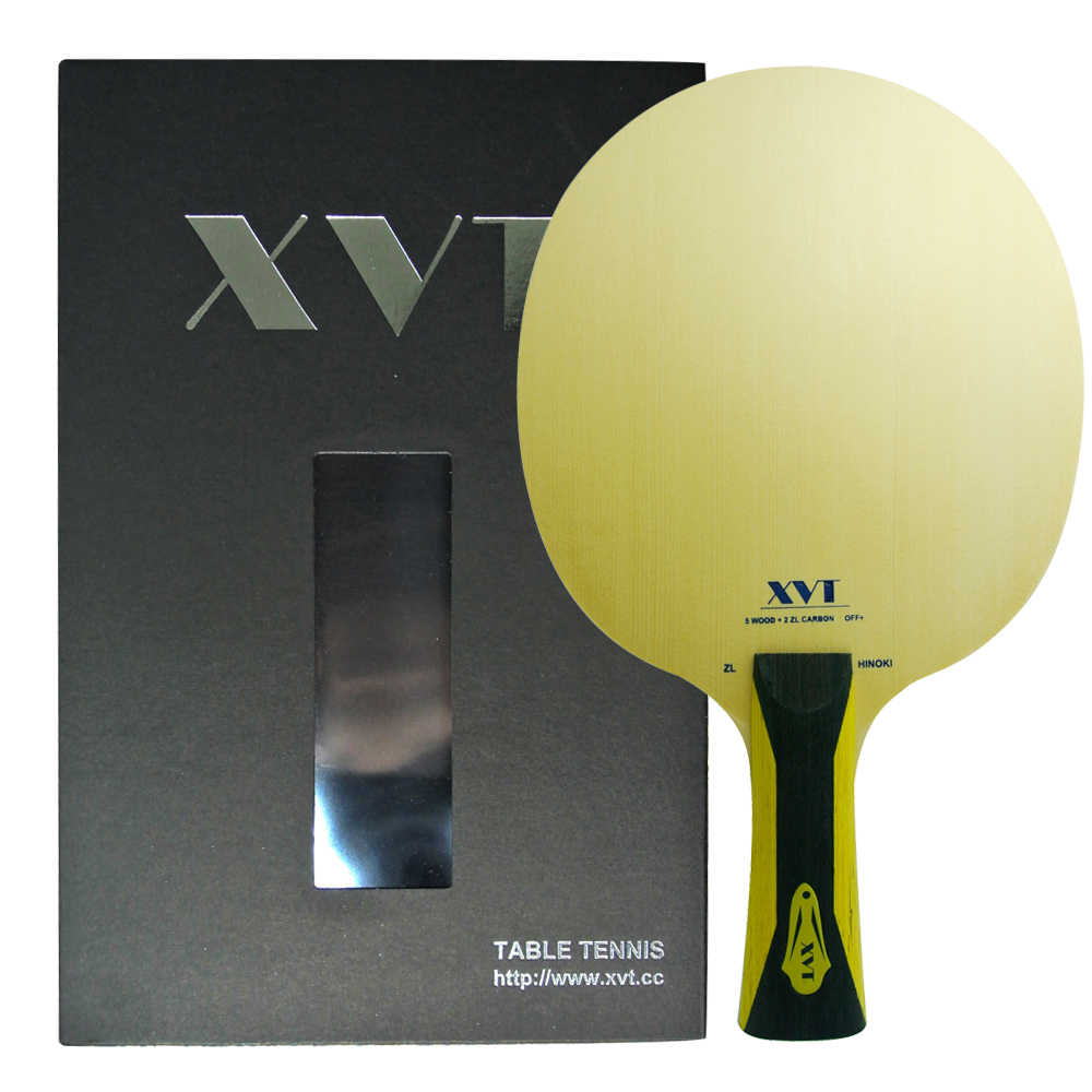Highend  XVT   ZL  HINOKI  ZL Carbon  ( AMULTART ) Table Tennis paddle/ Table Tennis Blade  with original box