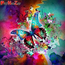 ParNarZar 5D DIY Diamond Painting Kits Butterfly Full Drill Round Diamonds for Home Wall Decorations