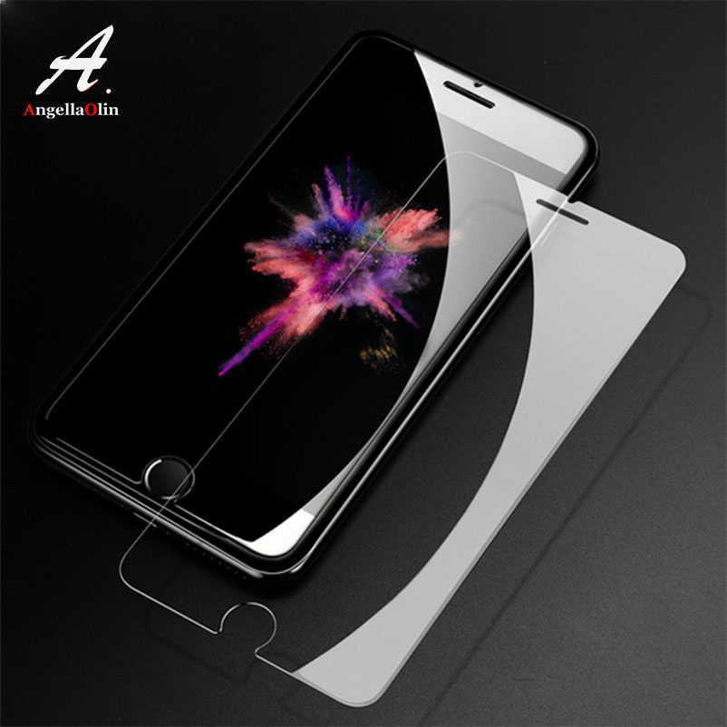 薄い 9H 強化ガラス Xs 最大 XR 4 4s 5 5s 5c SE 6 6s プラス 7 7 プラス 8 × 画面保護フィルムケースカバー電話バッグ