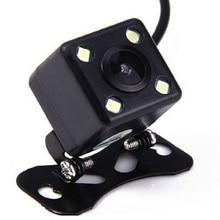 Caméra de recul de voiture HD 4 LED lumières caméra de recul Vision nocturne caméras de stationnement automatique caméra de recul de véhicule étanche