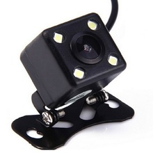 HD Car Rear View Camera 4 Led Lamps Rearview Night Vision Auto Parking Monitor Waterproof Backup