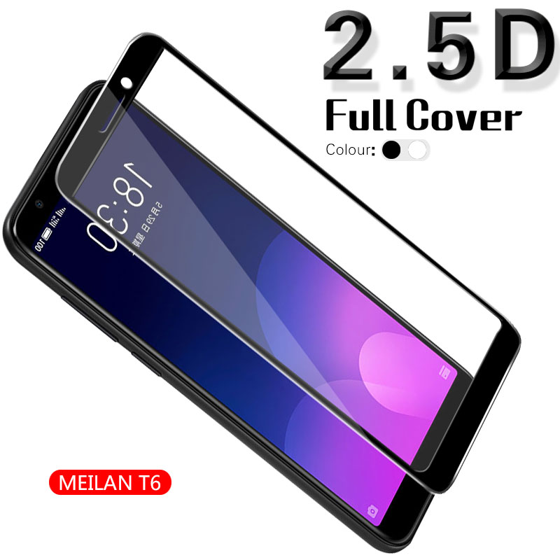 2.5D Full Coverage Tempered Glass For <font><b>Meizu</b></font> <font><b>M6T</b></font> Meilan 6T Blue Charm 6T <font><b>M811H</b></font> M811Q Film Screen Protector White&Black&Gold image