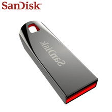 USB флеш-накопитель SANDISK, 64 ГБ, 32 ГБ, 16 ГБ, флеш-диск, USB 2,0, металлическая ручка, Memoria U Stick, флеш-накопитель, флешки, u-диск