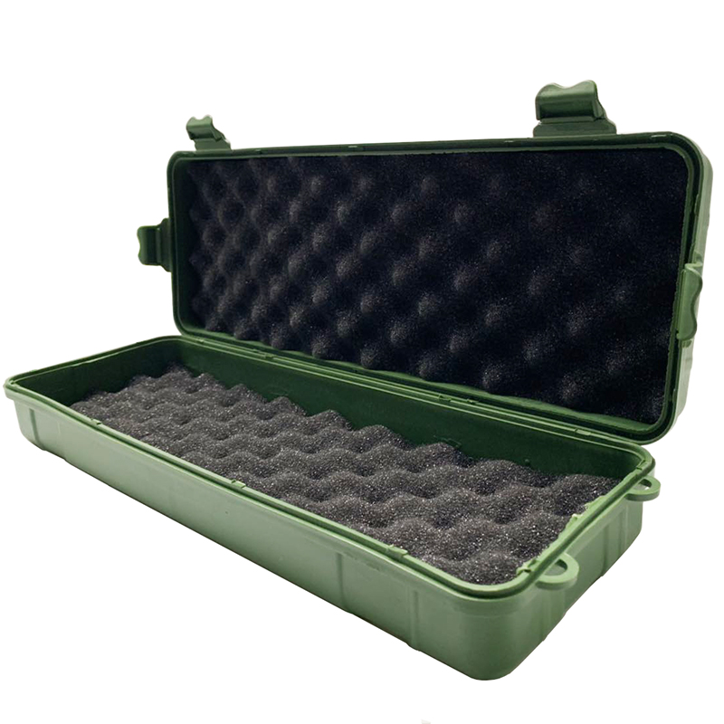 32x11x7cm Safety Equipment Instrument Box Outdoor Shockproof Sealed Safety Case Plastic Tool Box Carry Storage Box