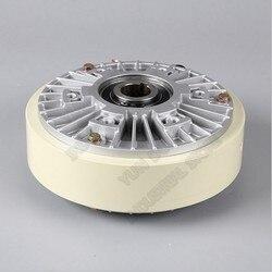 50Nm 5 kg DC 24 V z wałem drążonym 1000 obr/min proszku magnetycznego hamulca relaks dla kontroli napięcia ciągłe przesuwne symulowane obciążenia|Magnetyczne hamulce proszkowe|Narzędzia -