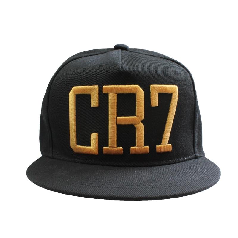 Newest Style Cristiano Ronaldo CR7 Hats Baseball Caps Hip Hop Caps Snapback  Hats for Men Women High Quality bone masculino -in Baseball Caps from  Apparel ... 2597cf8843a