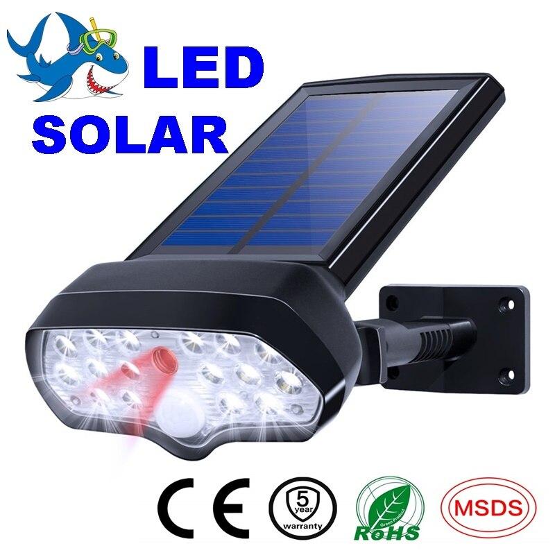 Home Herzhaft Solar Licht Ip65 Wasserdichte Solar Lampe Pir Motion Sensor Lichter Solar Strahler Wand Lampe Für Outdoor Garten Dekoration Strukturelle Behinderungen