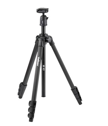 Velbon M43 Tripod With Ball & Socket Head штатив velbon ex 230