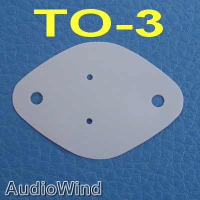 ( 50 Pcs/lot ) TO-3 Silicon Insulator,Insulation Sheet,pad.
