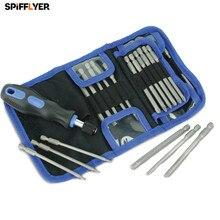 SPIFFYER New 25 Pcs Screwdriver Bits Set for Household Car repairing Tool Set with 23Pcs 100mm CRV Bits Set Hand Tool Set