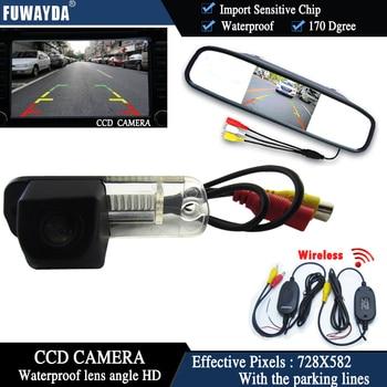 FUWAYDA CCD Car RearView Reverse Parking CAMERA+rearview monitor for Benz C-Class W203 E-Class W211 CLS-Class 300 W219 R350 R500
