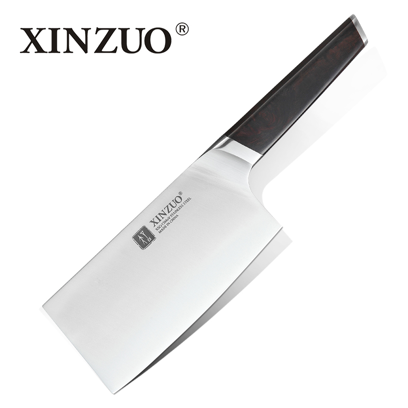 XINZUO 6 5 inch Boning Chopper Knife Stainless Steel X5Cr15Mov Kitchen Knives Cooking Tools Cleaver Slicing