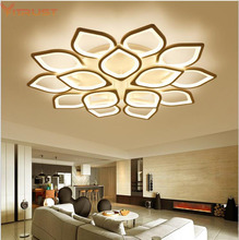 Nordic Led Ceiling Lights Dimming Modern Acrylic Lamps For Living Study Room Dining Bedroom Home Lighting Fixture