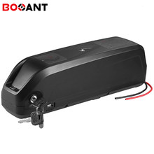 36V 17Ah Hailong lithium battery for LG 18650 cell 10S 36V 250W 500W 800W electric bike battery built in 30A BMS with 5A Charger(China)