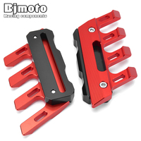 BJMOTO Motorcycle CNCN Front Fender Slider Protection Guard for BMW R1200GS for Yamaha R1 R6 MT09 MT10