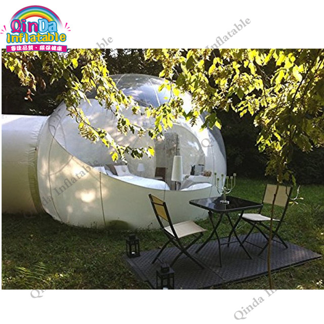 Outdoor Inflatable Half Clear Bubble C&ing Dome Lawn Tent Inflatable Bubble House for Hotel  sc 1 st  Aliexpress & Online Shop Outdoor Inflatable Half Clear Bubble Camping Dome Lawn ...