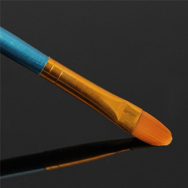 Set of 4 or 10 Nylon Paint Brushes 4