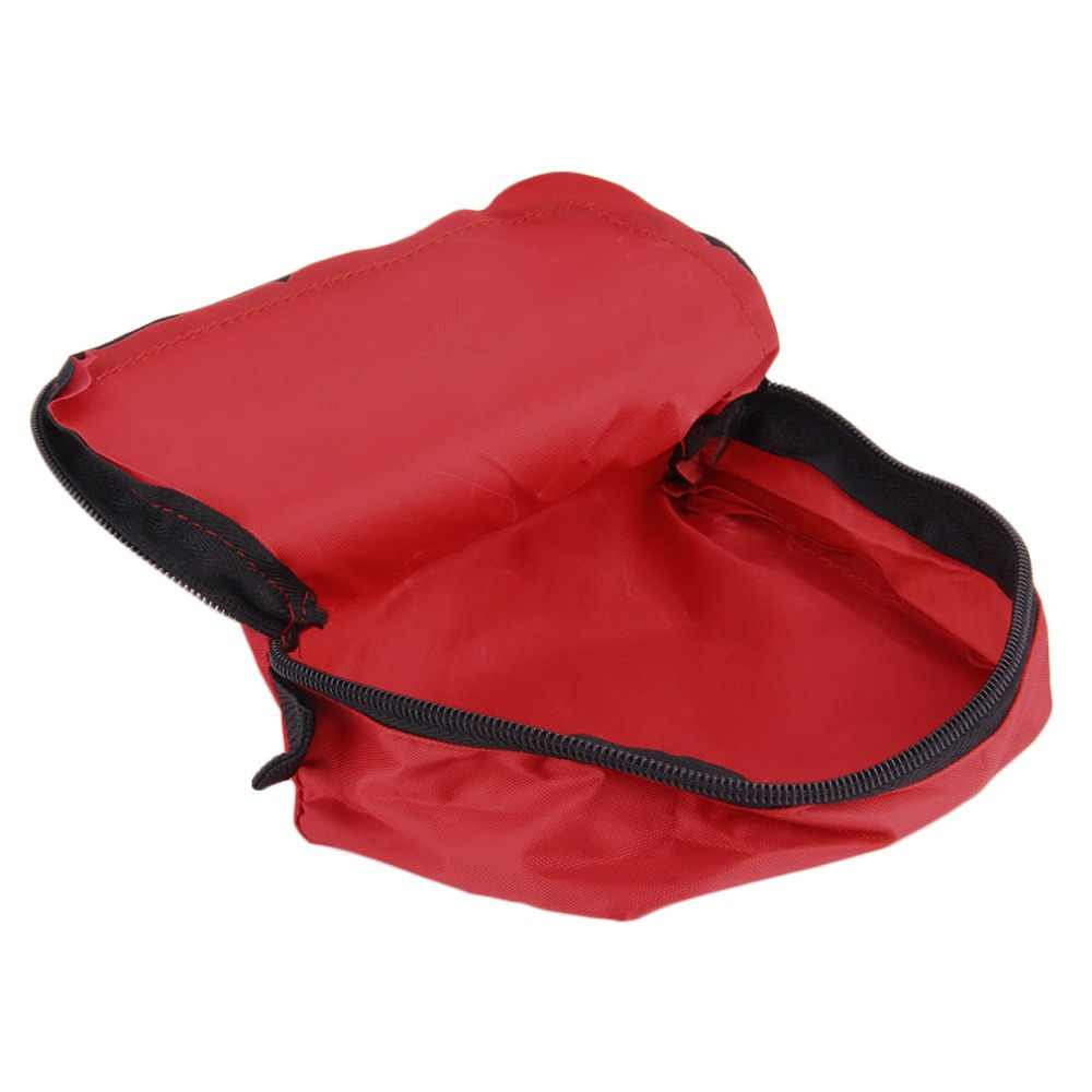 Pertolongan Pertama Kit 0.7L Merah Camping Darurat Kelangsungan Hidup Tas Perban Obat Tahan Air