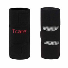 1 Pair Tcare Tourmaline Self -heating Kneepad Magnetic Therapy Knee Support Tourmaline Knee Brace Belt Knee Massager