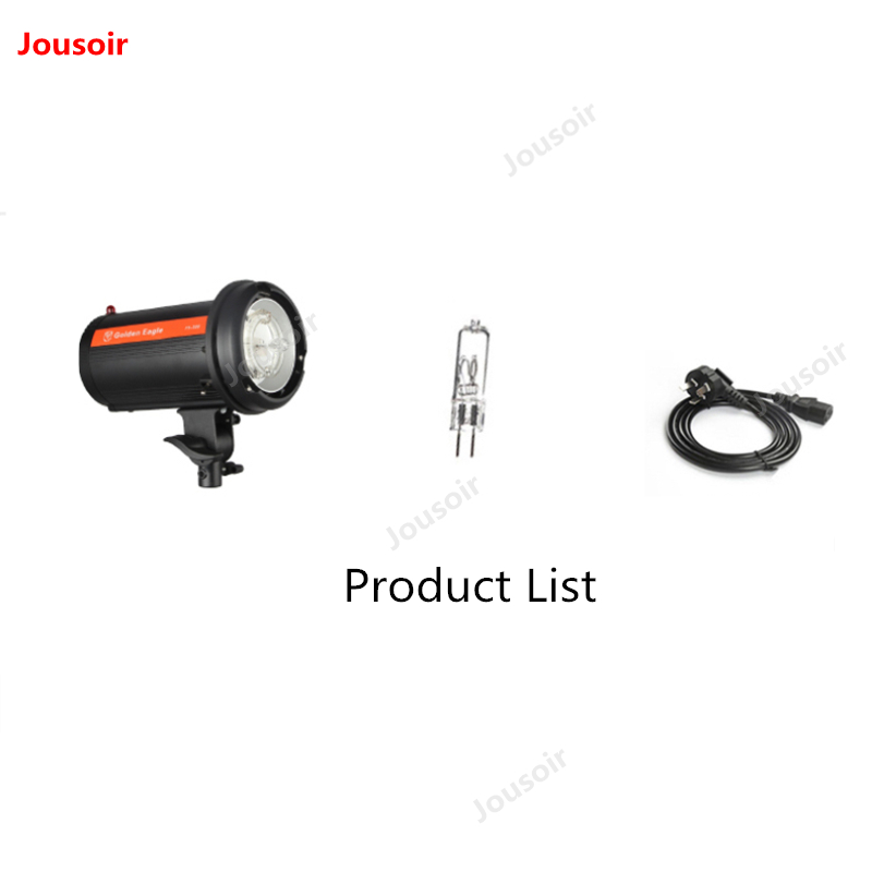300W flash photography lamp studio light flashlight product flash head still life bowens mount shooting photo equipment CD50 T10