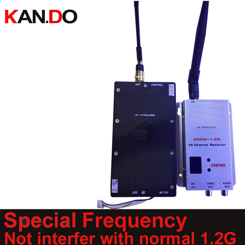 10W special 1.2G transceiver not interfer w/ normal 1.2G drone transmitter 1.2G Transmitter Receiver image FPV transmitter