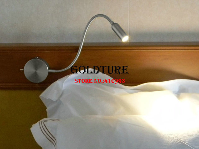Modern Bed Reading Lamp 3w Novelty Wall Light