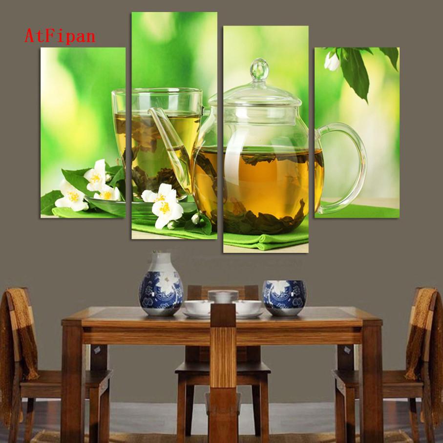 atfipan pared cuadros para la sala paneles moderna cocina artes del t pintura de la