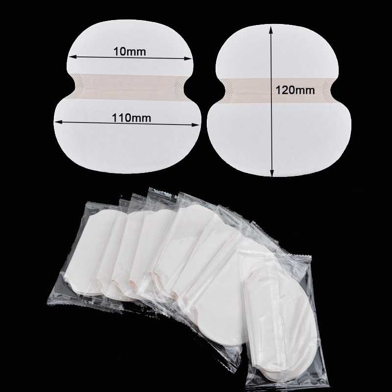 200pcs Underarm Pads Dress Sweat Perspiration Pads Shield Underarm Armpits Sweat Pads Deodorant For Women Armpit Absorbent Pads