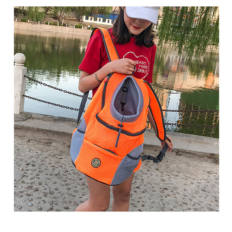Portable Travel Dog Backpack Carrier 16