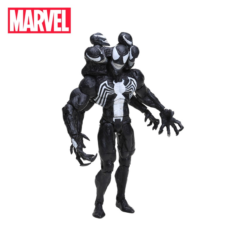 21cm Marvel Toys Marvel Select The Amazing Spider-man 2 Venom PVC Action Figure Superhero Play Arts Venom Collectible Model Doll ...