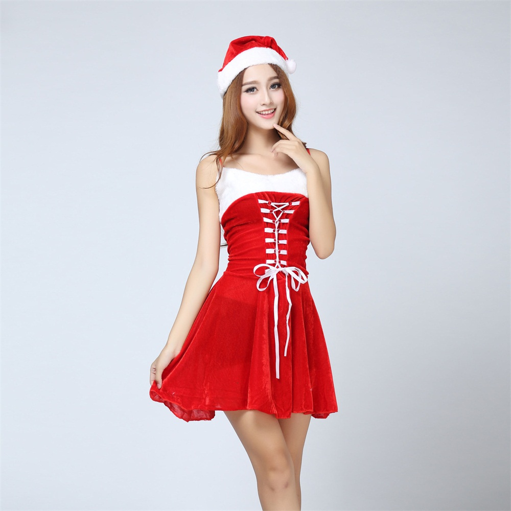 Lingerie christmas costumes for women