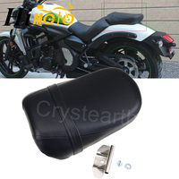 Motorcycle Black Seats Cover Cafe Racer Seat Pillion Rear Passenger Seat For Kawasaki Vulcan 650 VN650 2015 2016 2017