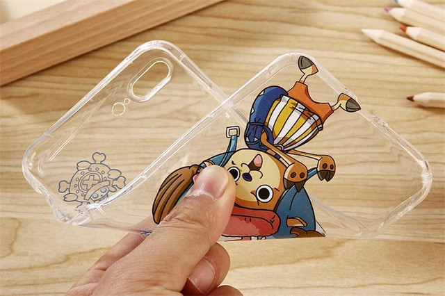 One Piece Monkey D. Luffy Shockproof Soft Case for iPhone
