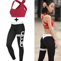 Women Quality Workout Pant Push Up Leggings With Sexy Bra ,  Sports Running Yoga Suit Fitness Sets  Gym Clothes  G-339