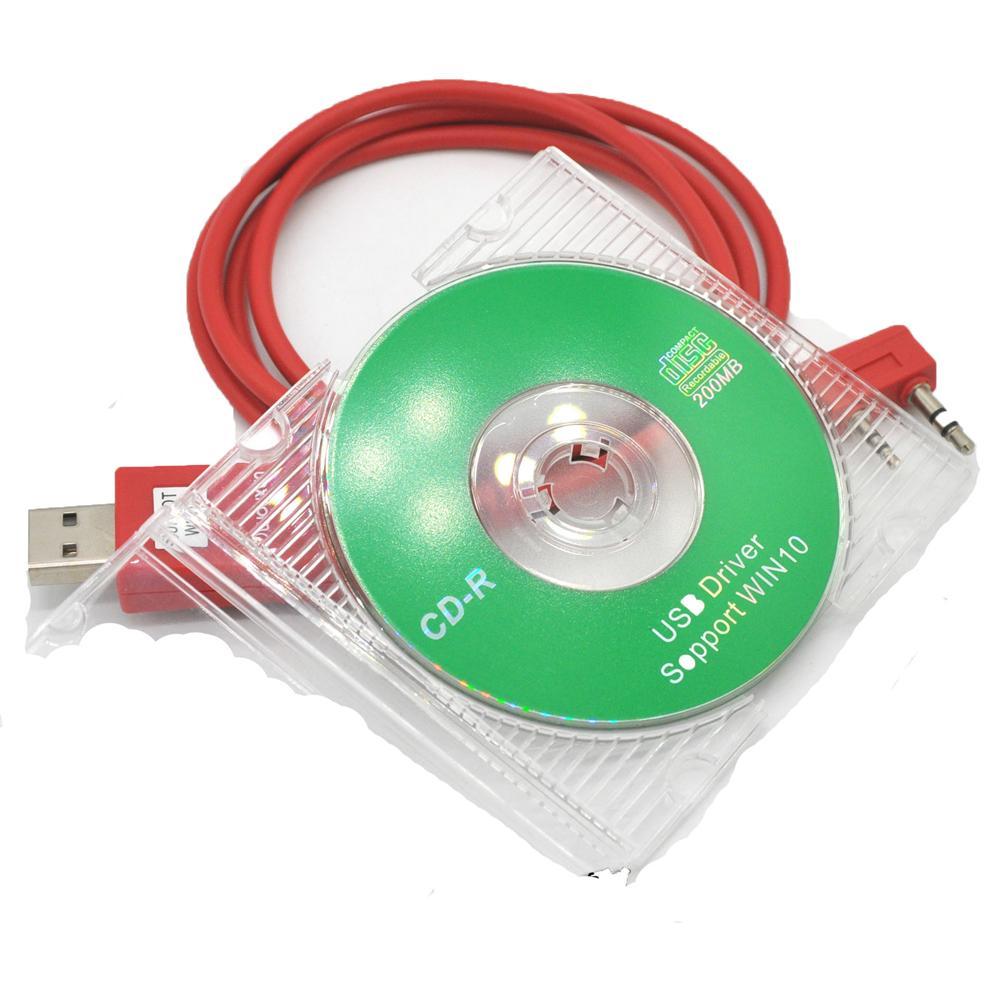 Original WOUXUN USB Programmierkabel Funksprechgerät KG-UVD1P KG-UV6D KG-UV8D KG-UV899 KG-UV9D PLUS Programmiersoftware Kabel + CD
