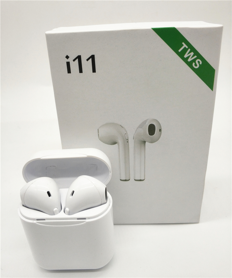 i11 <font><b>TWS</b></font> Bluetooth 5.0 Wireless Earphones Earpieces mini Earbuds i7s With Mic For iPhone X 7 8 Samsung S6 <font><b>S8</b></font> Xiaomi Huawei LG image