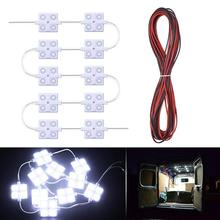 MICTUNING 12 V 40 светодиодов Ван потолочный светильник для помещений Наборы для прицепов Грузовые автомобили Sprinter ван лодки грузовиков
