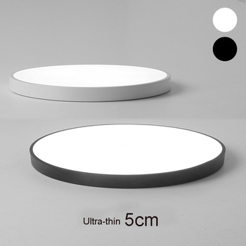 Hot sale Ultra-thin 5cm LED ceiling lighting Circular ceiling lamp Remote Control Fixture for  balcony/ the living room/ Kitchen Ceiling Lights